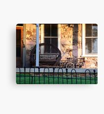 Evening on the Porch Canvas Print