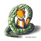 Dragon Fox by Byron  McBride