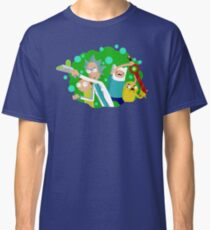 The Adventure Time of Rick and Morty Classic T-Shirt