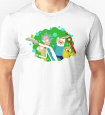 The Adventure Time of Rick and Morty T-Shirt