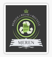 Commander Meren Sticker