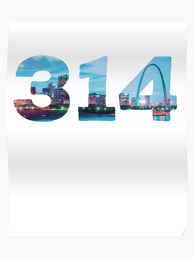 314 area code location