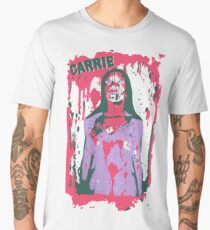 Scary Carrie (With Text) Men's Premium T-Shirt