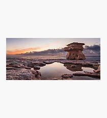 The Mashroom Rock Photographic Print