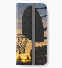 Basketball Hoop Silhouette iPhone Wallet/Case/Skin
