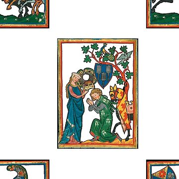 Codex Manesse pattern by interarte