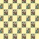 Codex Manesse pattern by Iaberius al-Karawan