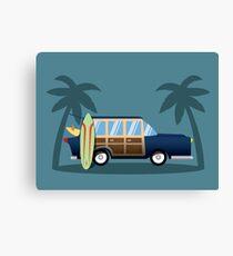 Beach Cruiser Canvas Print