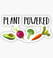 Plant Powered Sticker