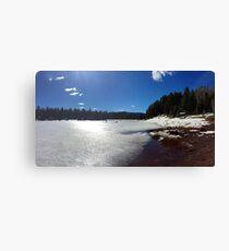 USA (Arizona) - Apache-Sitgreaves NF (A One Lake) (1) Canvas Print