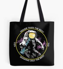bong ripping astronaut  Tote Bag