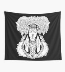 Left Hand Path Lilith Wall Tapestry