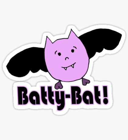 Batty-Bat (1st variant) Sticker