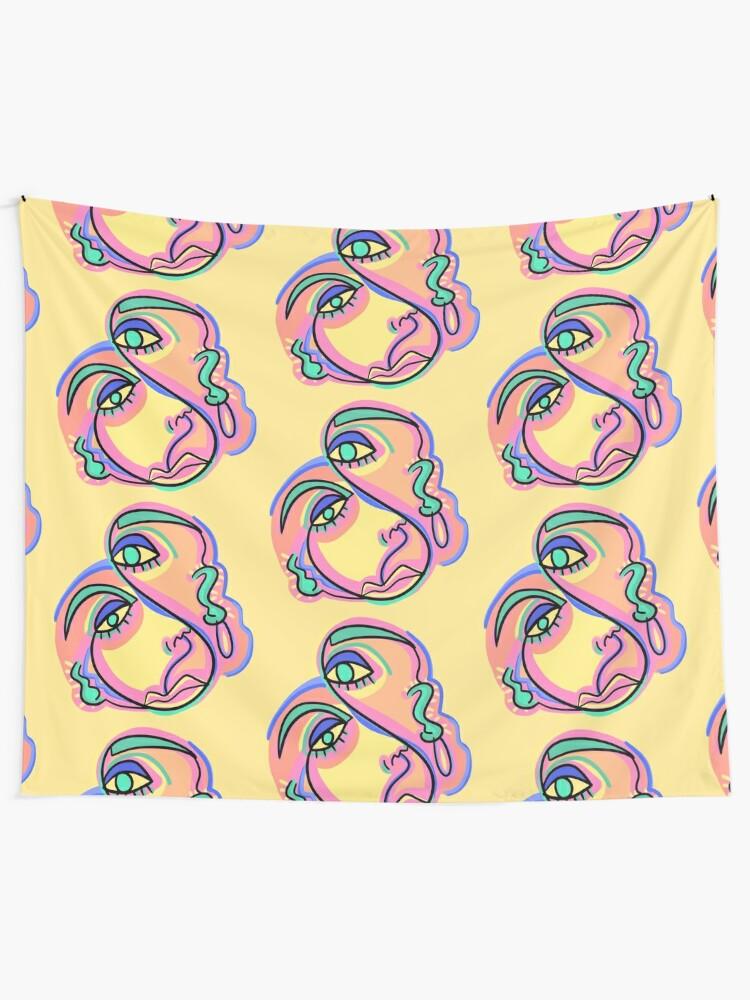 Alternate view of SNAKE Tapestry