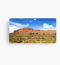 USA (Arizona) - Navajo Nation (near Willow Springs) Canvas Print