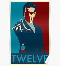 Peter Capaldi Hope Poster Poster