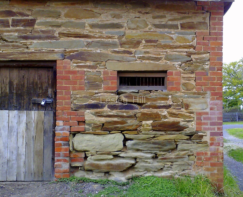 Avoca Barn Close Up by Lesley  Hill