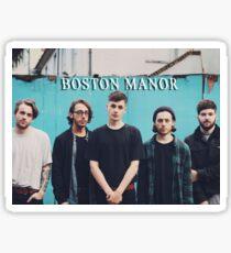 Boston Manor Sticker