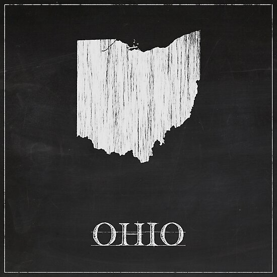 Ohio - Chalk by FinlayMcNevin