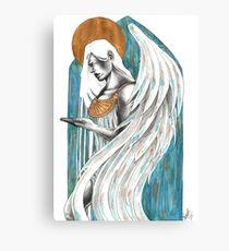 Gold Angel Canvas Print
