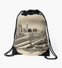 Interchange 5 Dubai Drawstring Bag