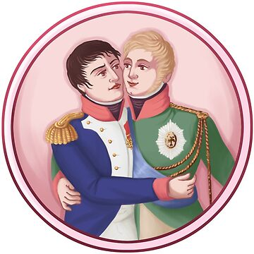 Napoleon and Alexander by annmonster