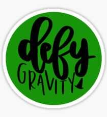 Wicked Defy Gravity Sticker