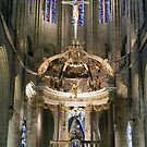 Basilica of St. Sauveur, Dinan. Brittany. France by hans p olsen