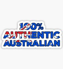 100% Authentic Australian Sticker