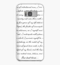 Washington's Farewell Address Samsung Galaxy Case/Skin