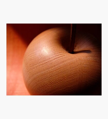 Wooden apple Photographic Print
