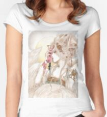 The Nine Tailed Fox Women's Fitted Scoop T-Shirt