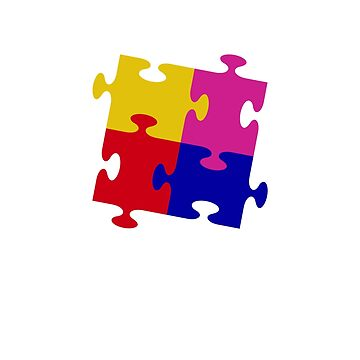 We Are One Team t Shirt with jigsaw puzzle by ShopDesignz