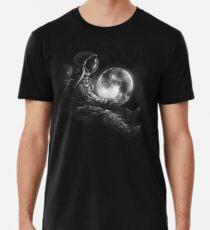 Mond spielen Premium T-Shirt