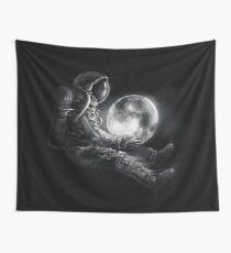 Mond spielen Wandbehang