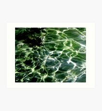 Water Electricity Art Print