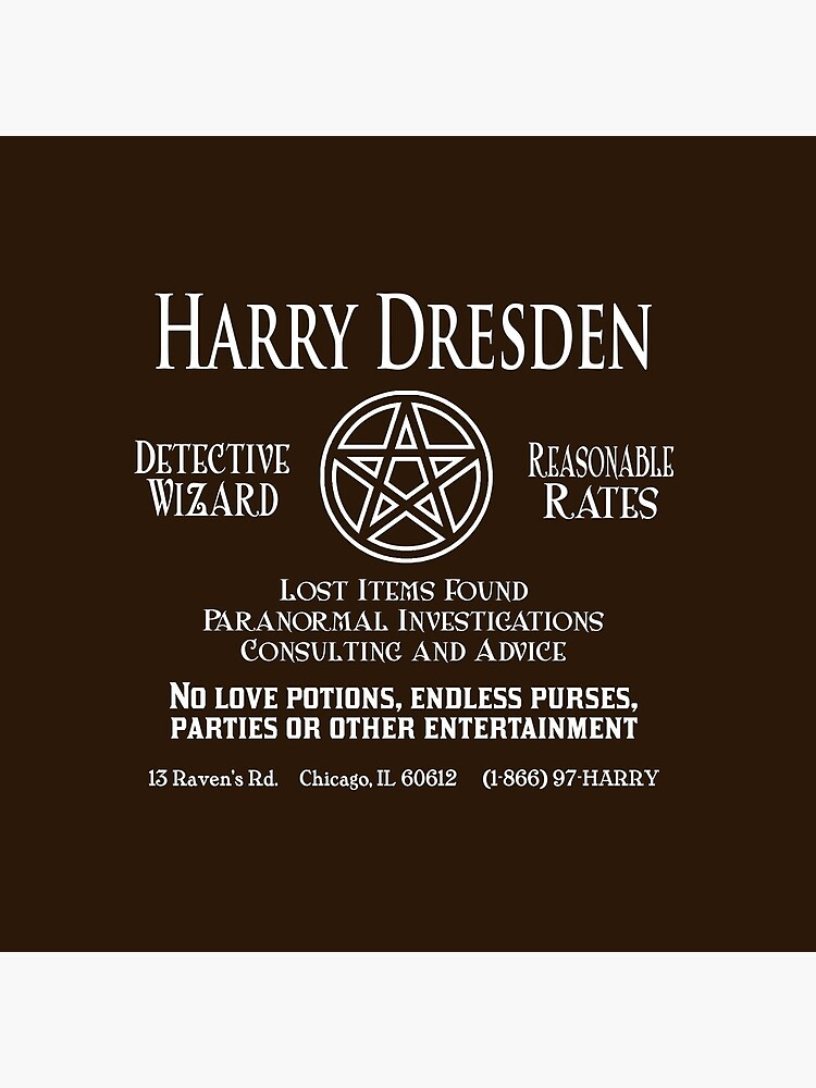Harry Dresden - Wizard Detective by geekerymade