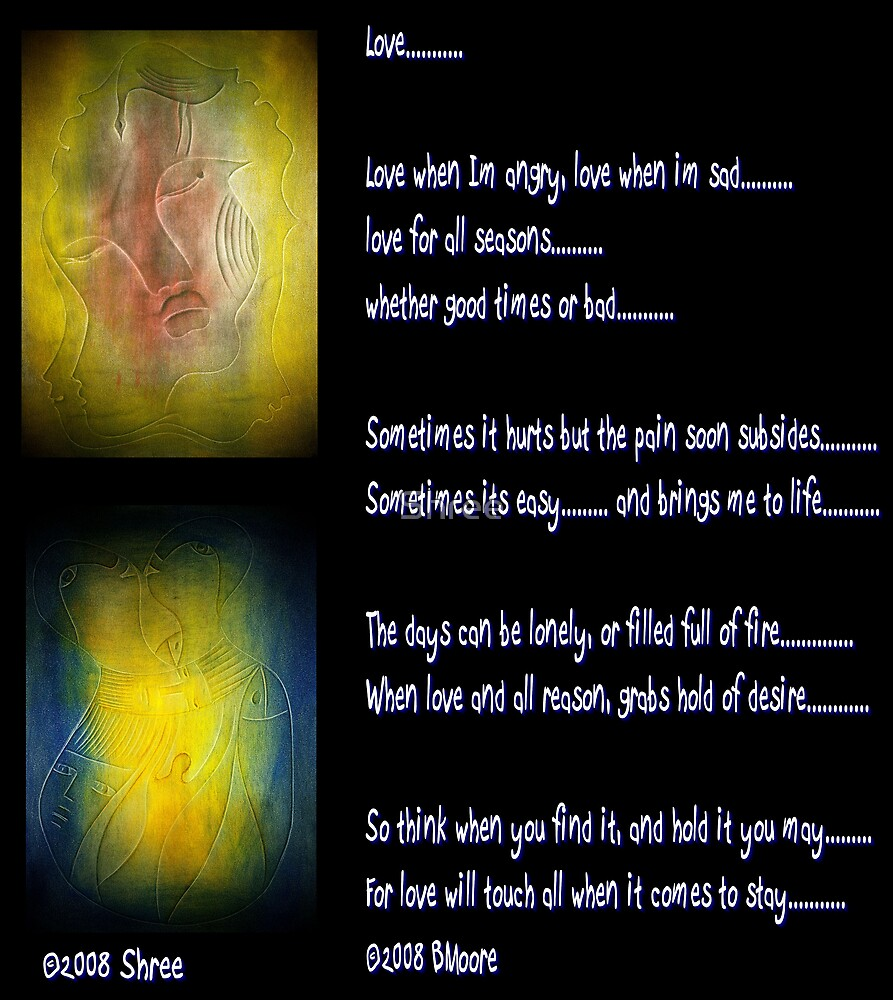 """""""Faces of Love - A Combo"""" by Shree"""