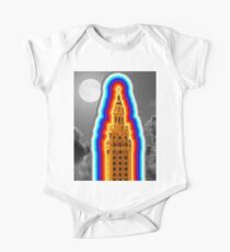 Miami Freedom Tower Cuban Liberty Downtown Brickell One Piece - Short Sleeve