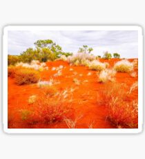 Sand Dunes #2 Of The Red Centre - Australia Sticker