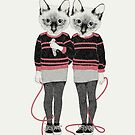 Siamese Twins by lauragraves