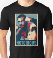 Conor McGregor NOTORIOUS Fan Print T-Shirt