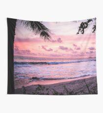 Palm Tree Beach Wall Tapestry