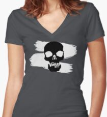 The Venture Bros. V2 Women's Fitted V-Neck T-Shirt