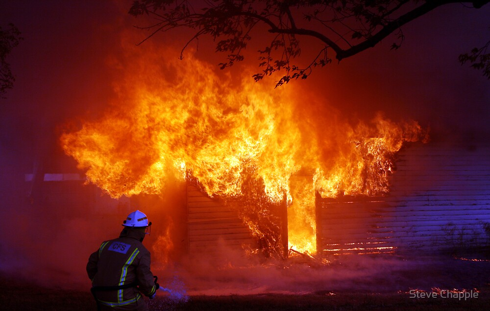 Burning! by Steve Chapple