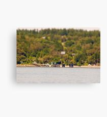 Vashon Island Ferry Pier Canvas Print