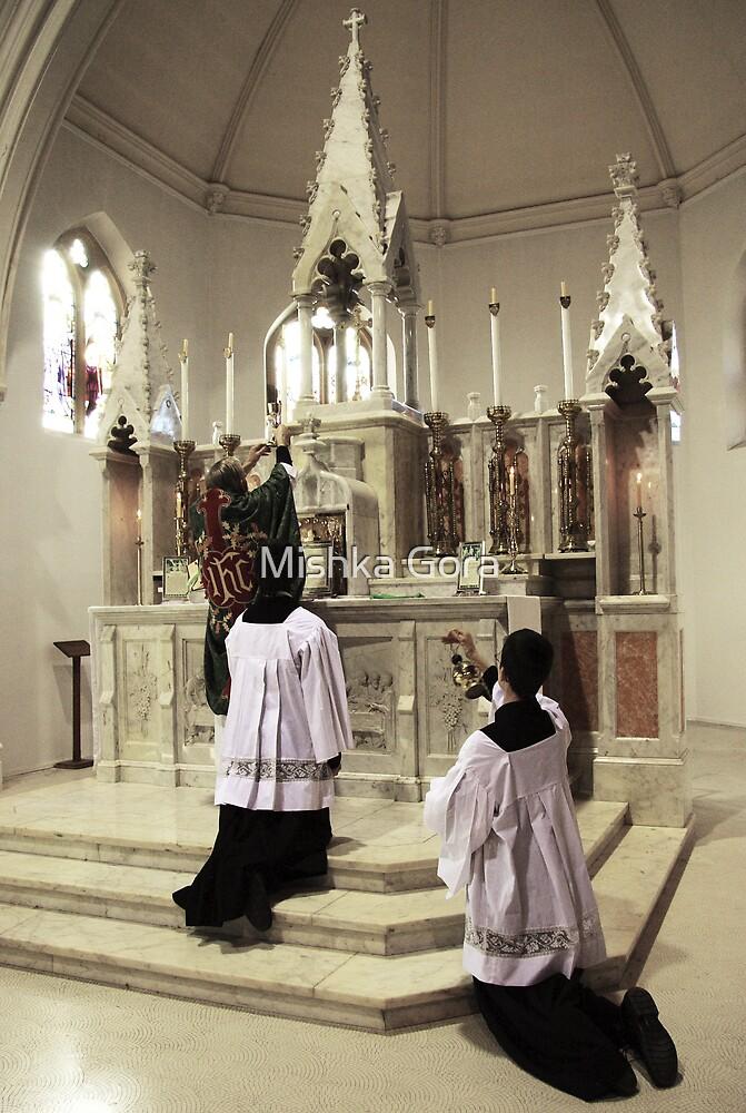 Consecration by Mishka Gora