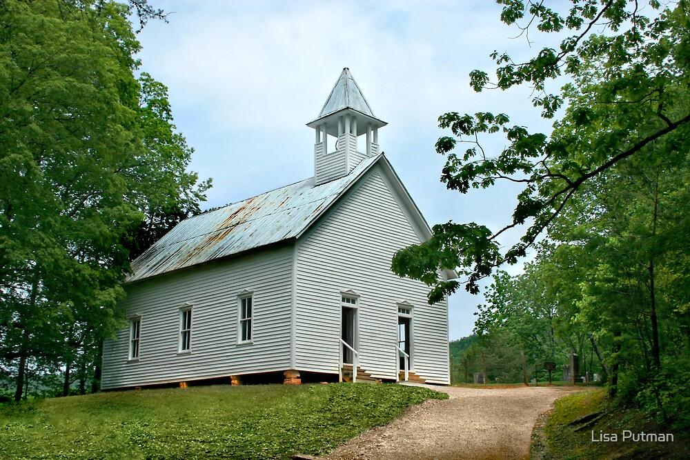 Cades Cove Methodist Church by Lisa G. Putman