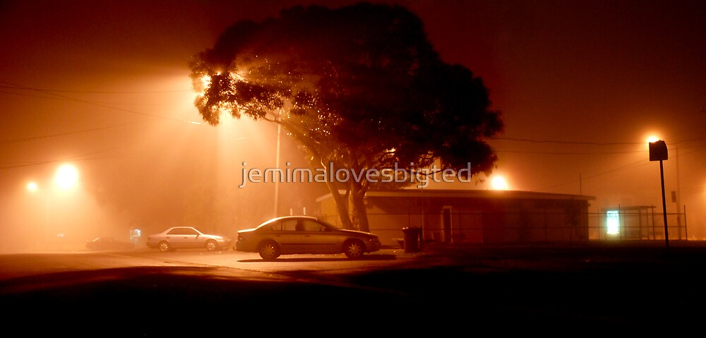 Foggy Night 1 by jemimalovesbigted