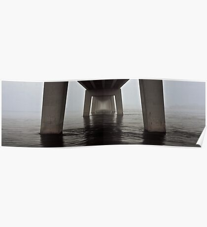 Phillip Island bridge Poster